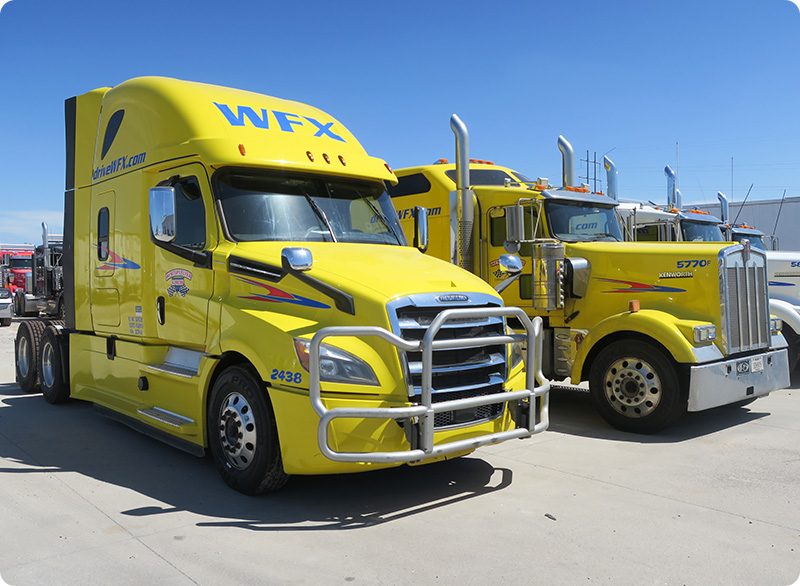 WFX Energy division truck