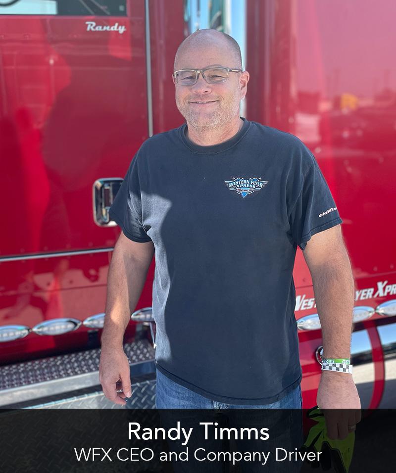 Randy Timms, WFX CEO